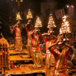 Evening Ganga Aarti at Varanasi