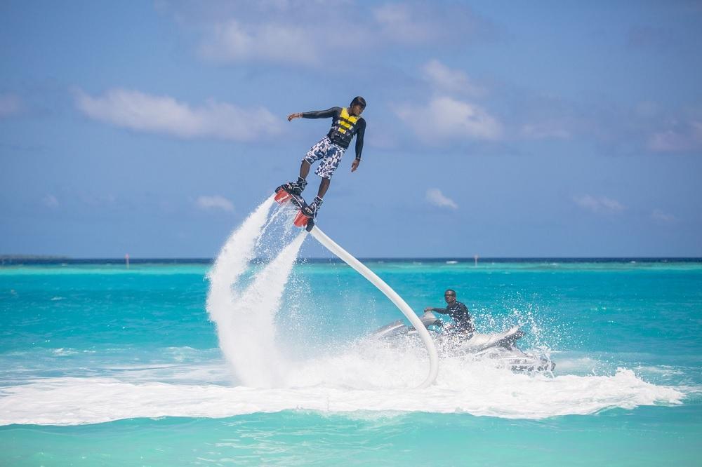 Flyboarding Maldives