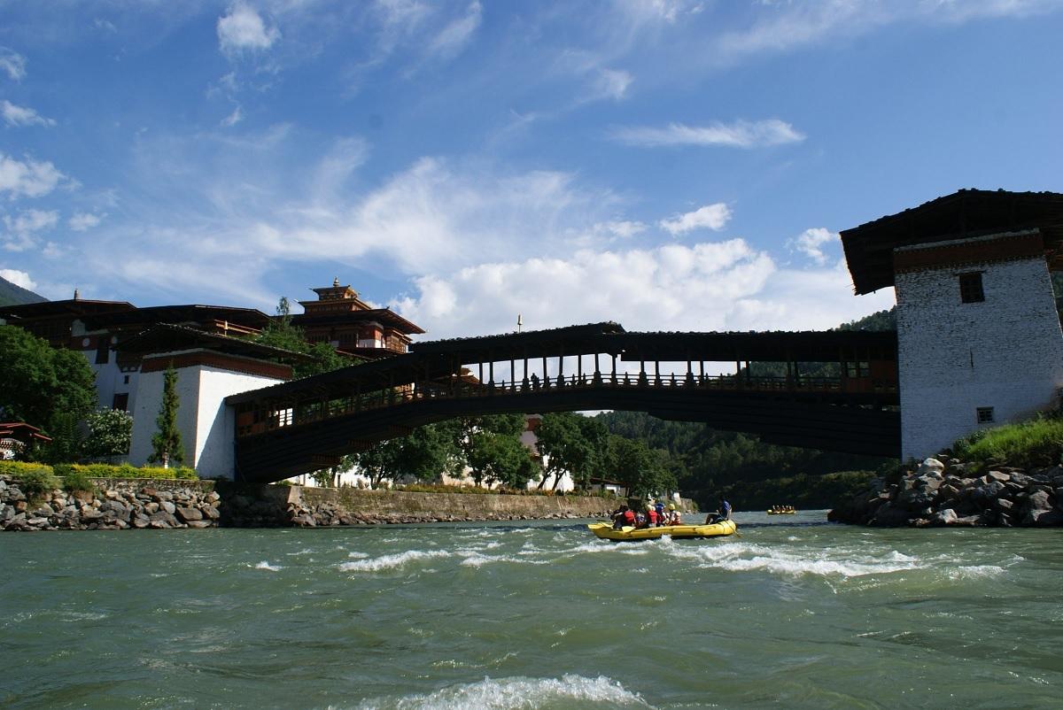 Po Chu River Rafting Bhutan