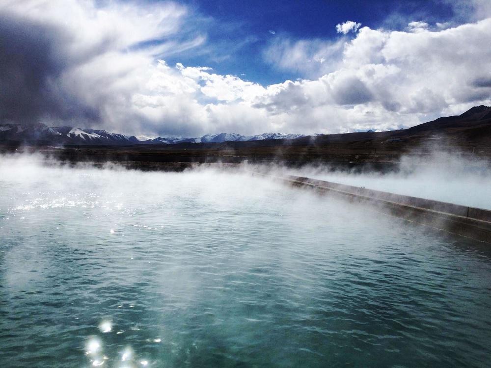 Yangbajing Hot Springs tibet