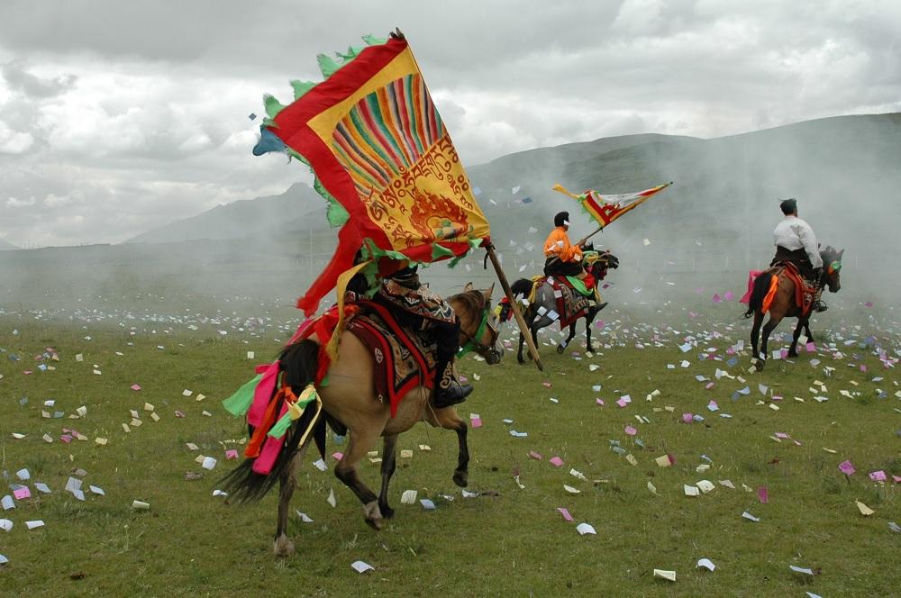 Yushu Horse Racing Festival tibet
