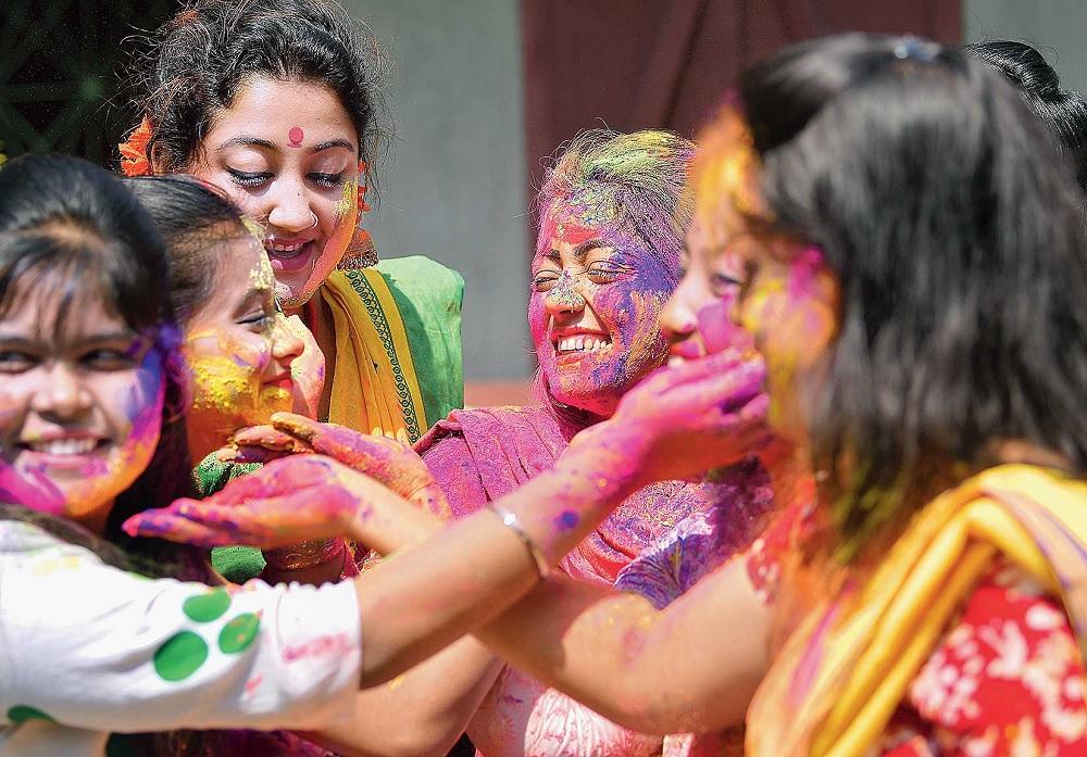 Holi in Assam
