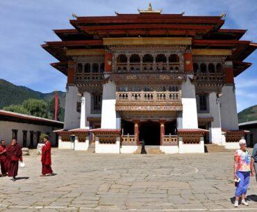 Gangtey Monastery Bhutan