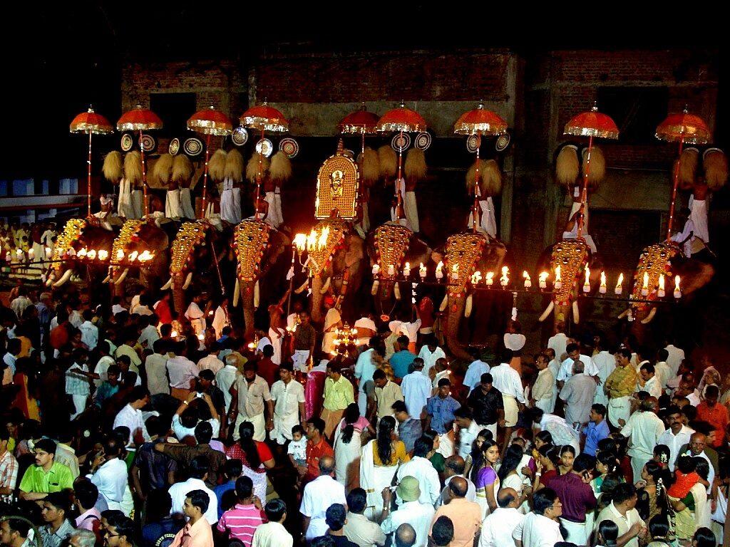 Arattupuzha Pooram Kerala