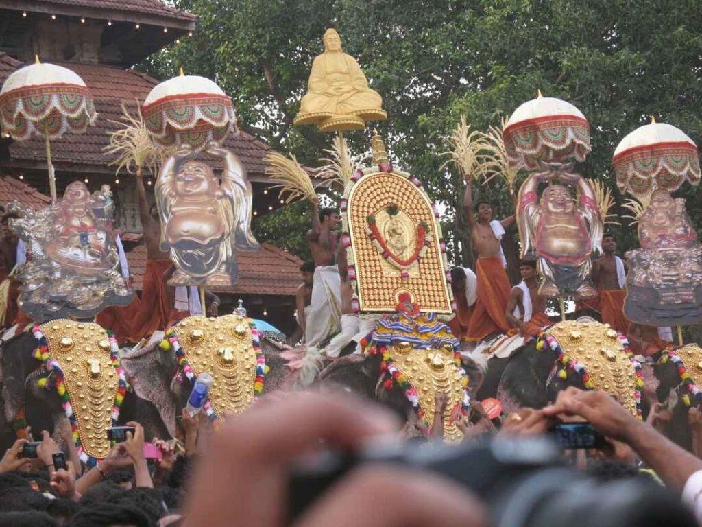 Kunissery Kummatti festival