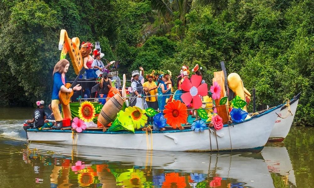 Sao Joao Festival Boat
