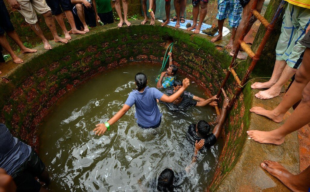 Sao Joao Festival Pool Jump