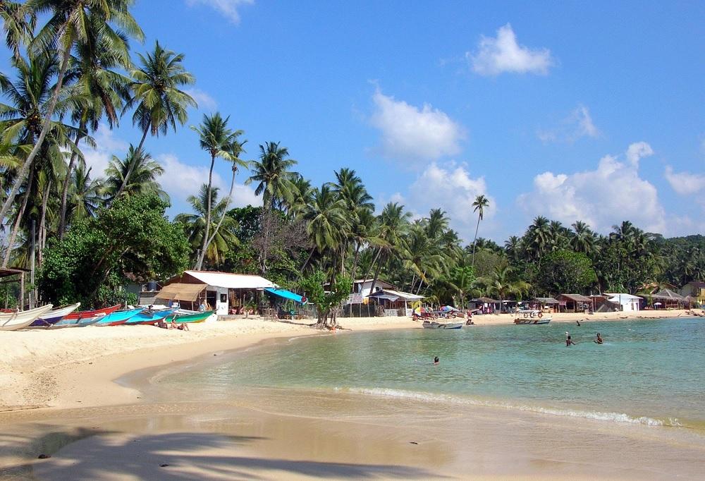 Unawatuna Seashore