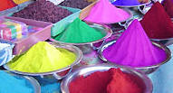 Holi Colors, Mathura Travels