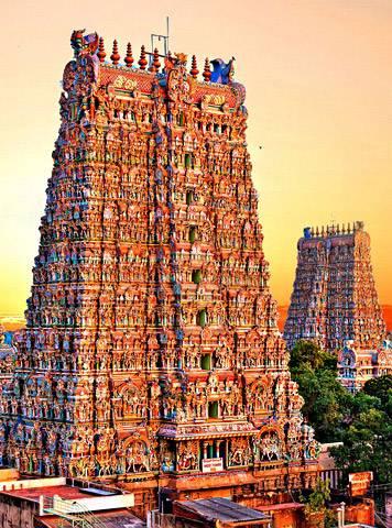 Tamilnadu historical temple madurai Tour - Special Holidays