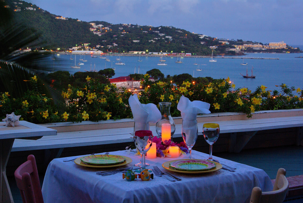 Candle Light Dinner On Terrace Book Romantic Candle Light Dinner