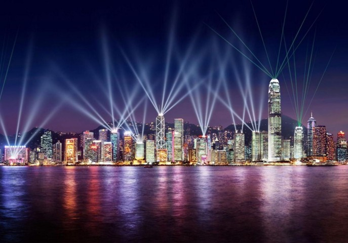 Dazzling Hong Kong with China