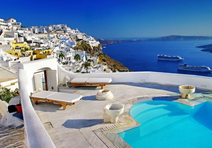 Honeymooning in Greece